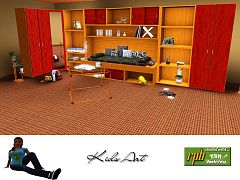 Sims 3 kids, room, furniture, set