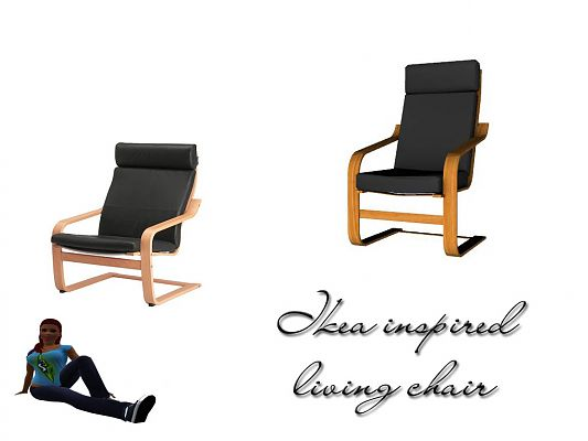 Sims 3 furniture, chair, object, mesh