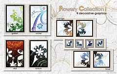 Sims 3 flower, floral, flowery, paintings, decor, decoration