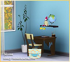 Sims 3 school, furniture, objects, decor