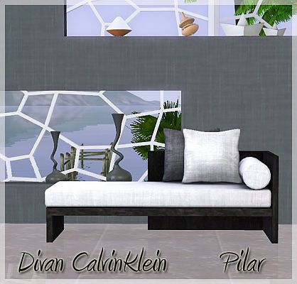 Sims 3 sofa, furniture, designer