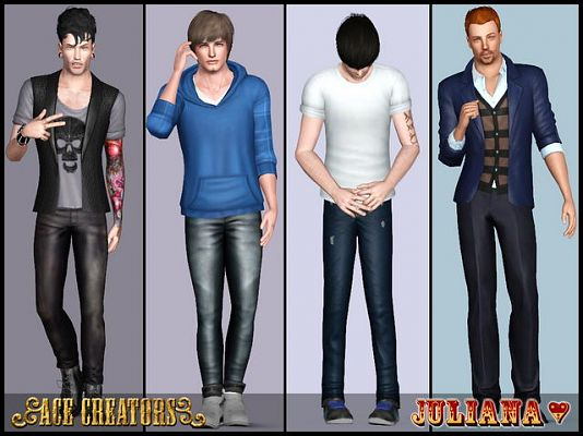 Sims 3 pose, poses, set, pack