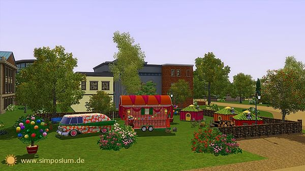 Sims 3 community, lot, sims 3, gipsy