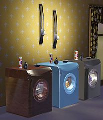 Sims 3 washer, laundry, bathroom, wash, kitchen