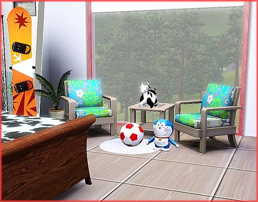 Sims 3 decor, objects, decoration, set