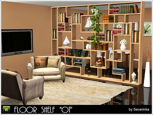 Sims 3 shelves, set, furniture, objects