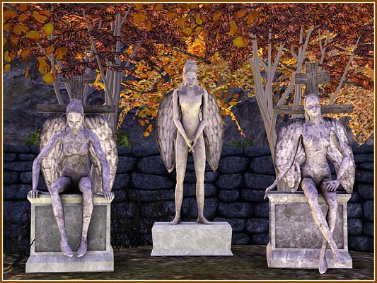 Sims 3 statue, objects