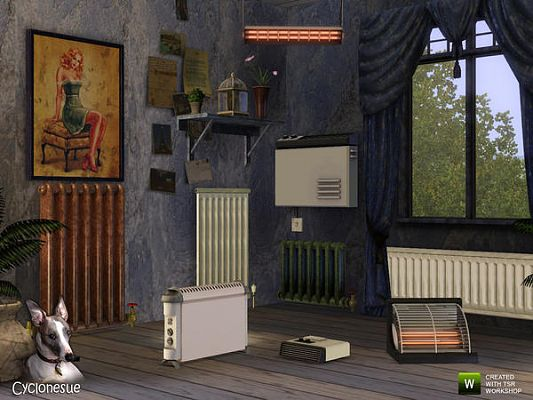 Sims 3 clutter, objects, decorative