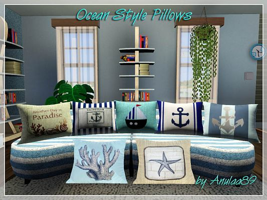 Sims 3 pillow, objects, decor, sims3