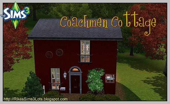 Sims 3 cottage, house, residential