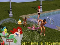 Sims 3 sprinklers, decor, objects