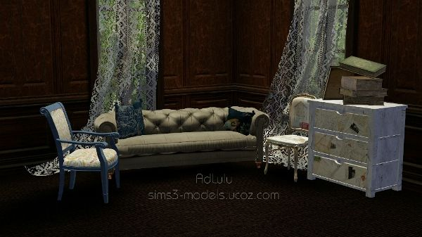 Sims 3 set, decor, objects