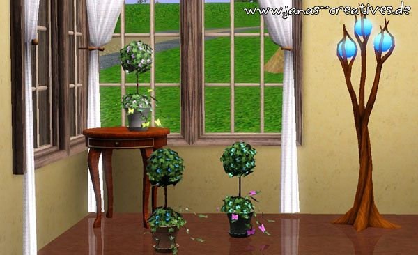 Sims 3 plants, decor, objects