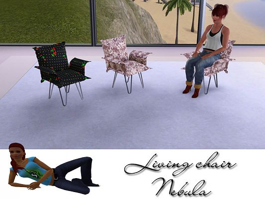 Sims 3 chair, livingroom, furniture, objects, decor