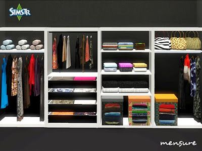 Sims 3 wardrobe, furniture, objects, bedroom