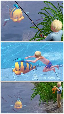 Sims 3 fish, objects, sims 3