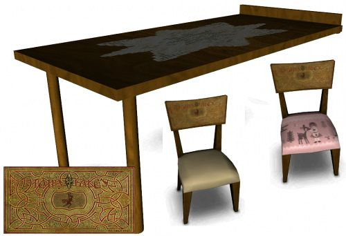 Sims 3 dining, diningroom, furniture, sims3