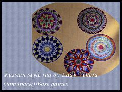 Sims 3 rugs, russian, decor