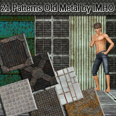 Sims 3 pattern, texture, sims 3, metal
