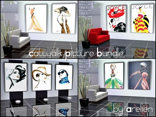 Sims 3 posters, photos, decor, objects