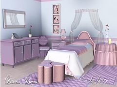 Sims 3 bed, bedroom, furniture