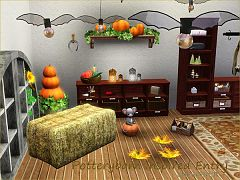 Sims 3 set, objects, furniture, lamp
