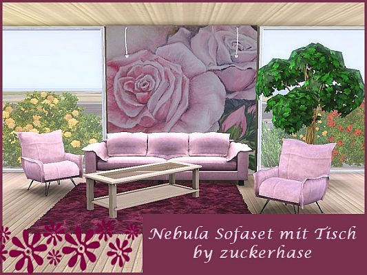 Sims 3 sofa, furniture, objects
