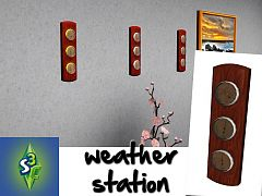 Sims 3 weather, station, electronics