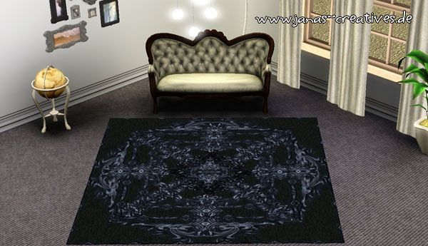 Sims 3 rugs, carpets, decor, objects