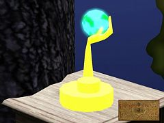Sims 3 lamp, object, hand
