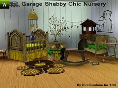 Sims 3 nursery, bebe, room, furniture