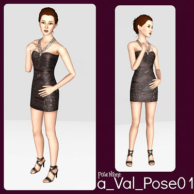 Sims 3 fashion, poses, pose, pack