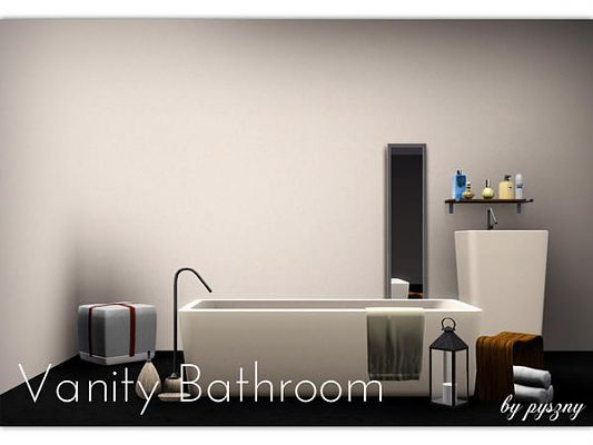 Sims 3 bath, bathroom, set, furniture