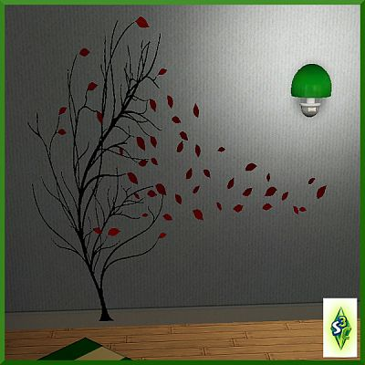Sims 3 wall, art, decor, objects