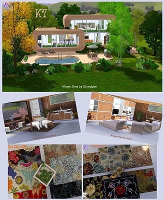 Sims 3 houses, furniture, lots, objects, rugs