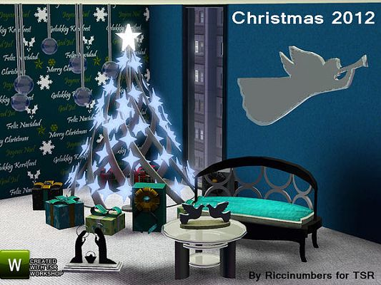 Sims 3 decor, objects, decoration, christmas