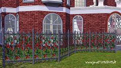Sims 3 fence, gothic, build