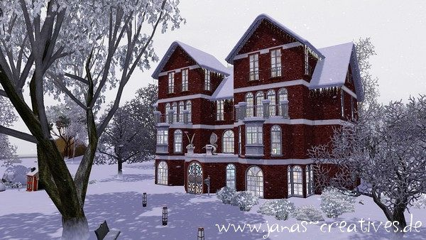 Sims 3 house, lot, residential, sims