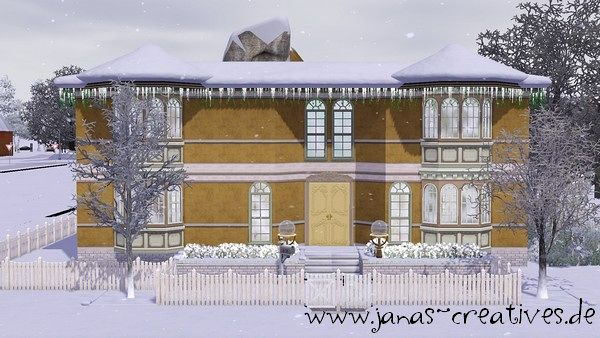 Sims 3 house, lot, residential, family