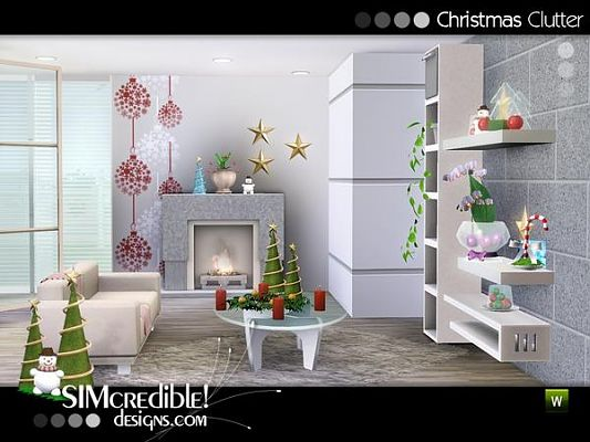 Sims 3 decor, clutter, objects, set