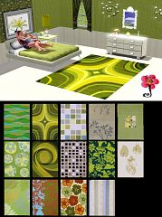 Sims 3 rugs, decor, decoration, object, objects