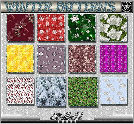 Sims 3 pattern, patterns, texture,winter