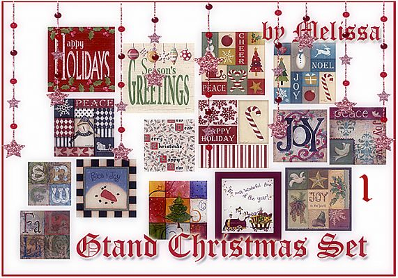Sims 3 paint, paintings, decor, objects, christmas