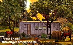 Sims 3 home, house, caravan, lot