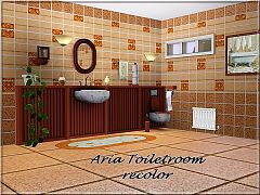Sims 3 bathroom, furniture, objects, set, recolor