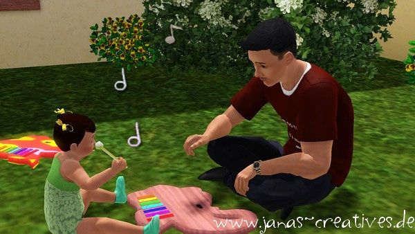 Sims 3 toys, objects, decor, xylophone