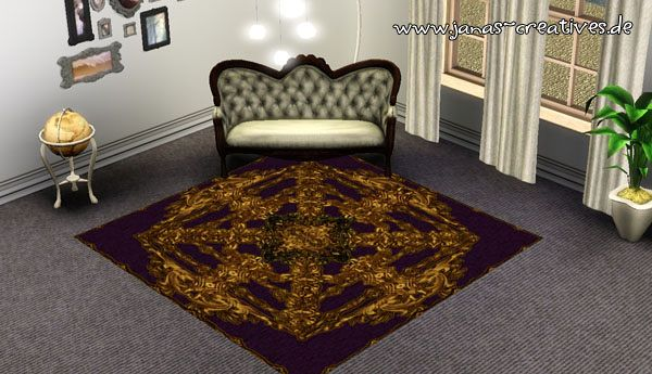 Sims 3 rugs, decorative, objects, buy, mode