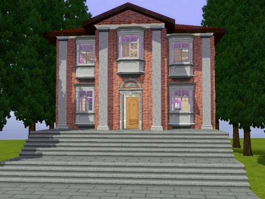 Sims 3 library, lot, community