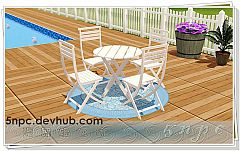 Sims 3 tables, chairs, outdoor