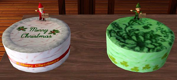 Sims 3 objects, decor, cake